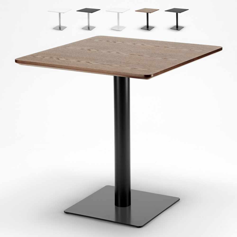 Rechteckig Bartisch 70x70 Zentraler Fuß für Bars Restaurants Hotels Horeca - Angebot