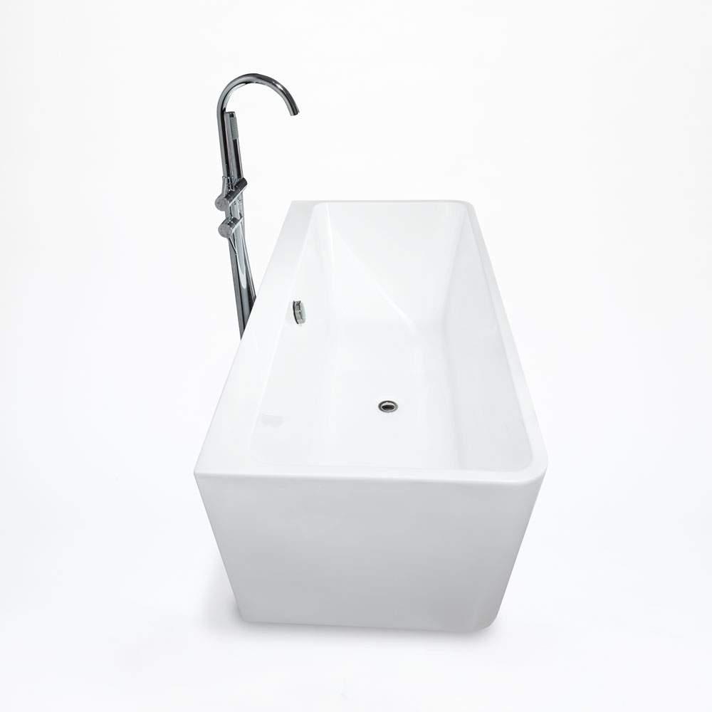Til voksne badekar Indbyggede fritstående