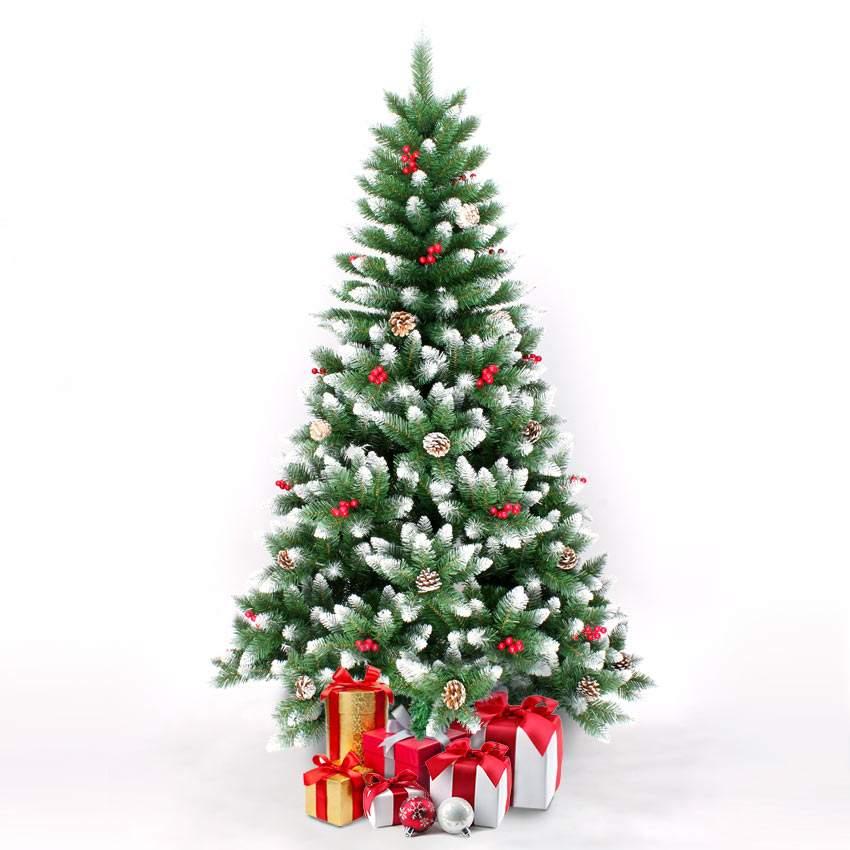 Künstlicher Weihnachtsbaum Geschmückt Deko 210 cm Rovaniemi - Exterieur