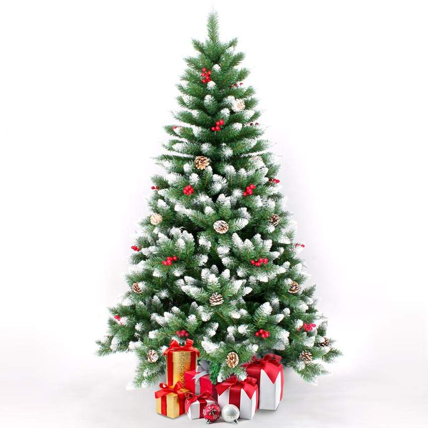 Künstlicher Weihnachtsbaum Geschmückt Deko 240 cm Oslo - Verkauf