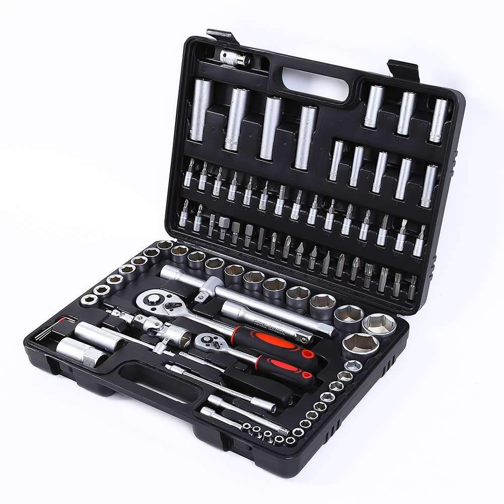 Werkzeugkoffer Inbusschlüssel Steckschlüssel Schraubenschlüssel Ratschenschlüssel 199 Stück Mx - Verkauf