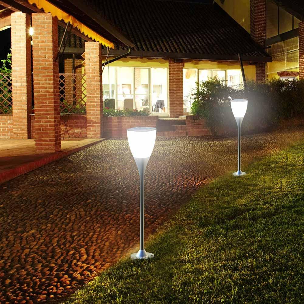 Gartenlampe Solarlampe Led Solarleuchte Außen Garten Sunway - Preis