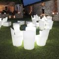 Leuchtender Moderner Designstuhl b für Küche Bar Restaurant und Garten Slide Zoe Rg