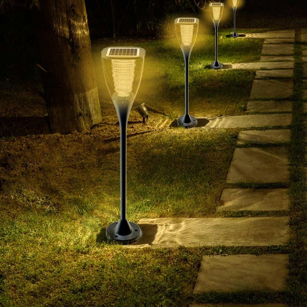 Gartenlampe Solarlampe Led Solarleuchte Außenbereich Garten Villa - neu