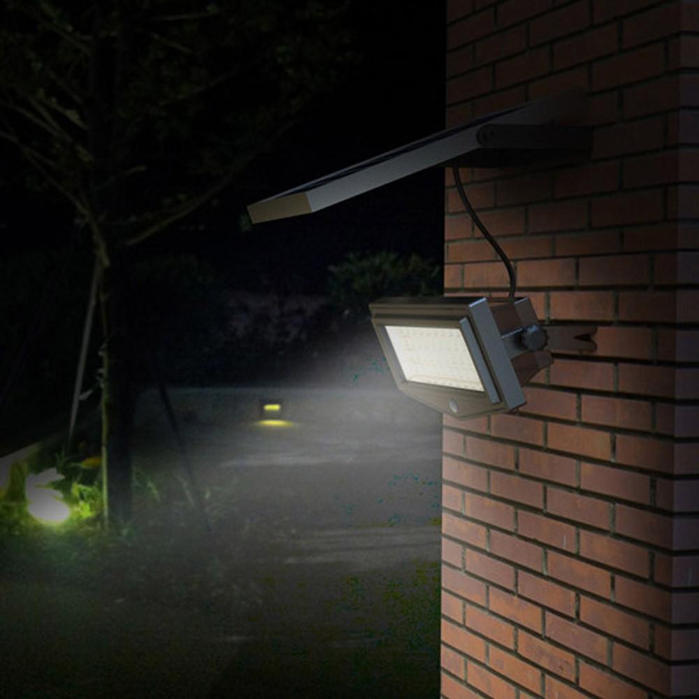Wandleuchte Außen Garten Led Solarleuchte Solarlampe Bewegungsmelder Felixible New - Verkauf