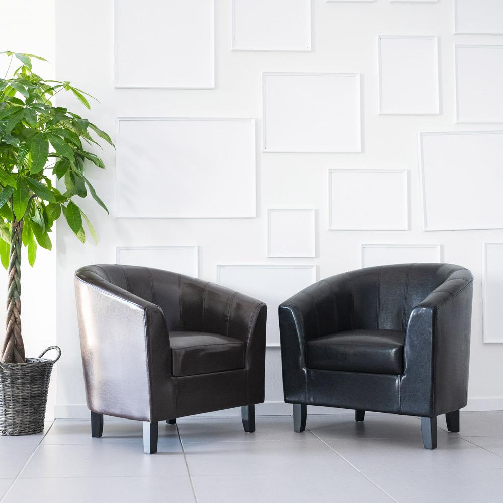Seashell Leren Stoel Fauteuil Voor In De Woonkamer Klassiek Design