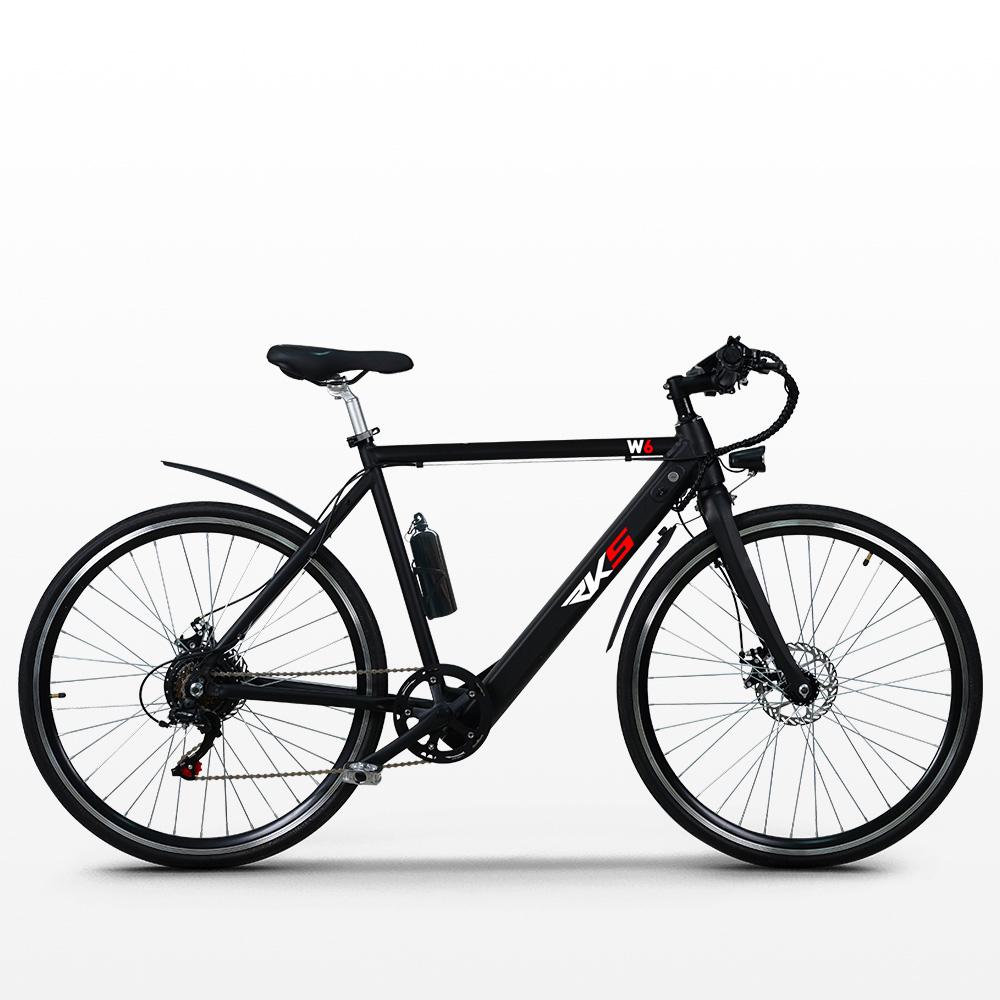 Bicicletta elettrica ebike city bike da uomo 250W Shimano W6