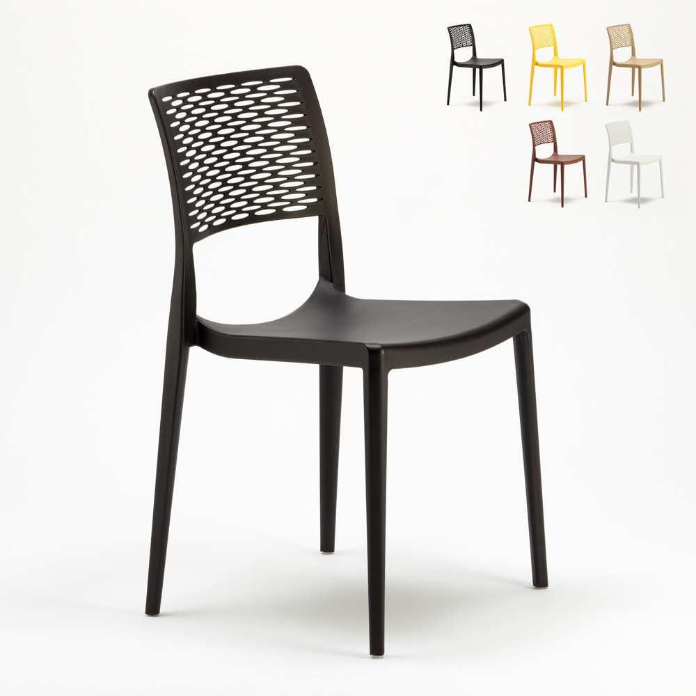 Stühle Gartenstühle Terrasse Küchenstuhl Cross - indoor