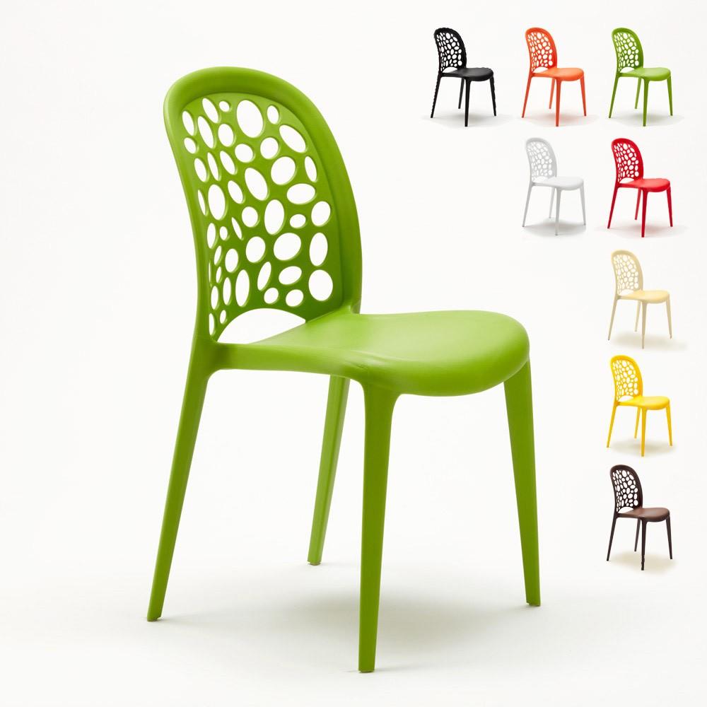 Stühle Küchenstuhl Esstischstuhl Gartenstühle Terrasse Wedding Holes Messina - price